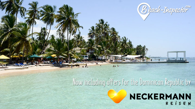 Now including offers for the Dominican Republic by NECKERMANN Reisen