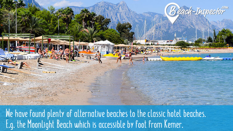 Mooonlight Beach in Kemer