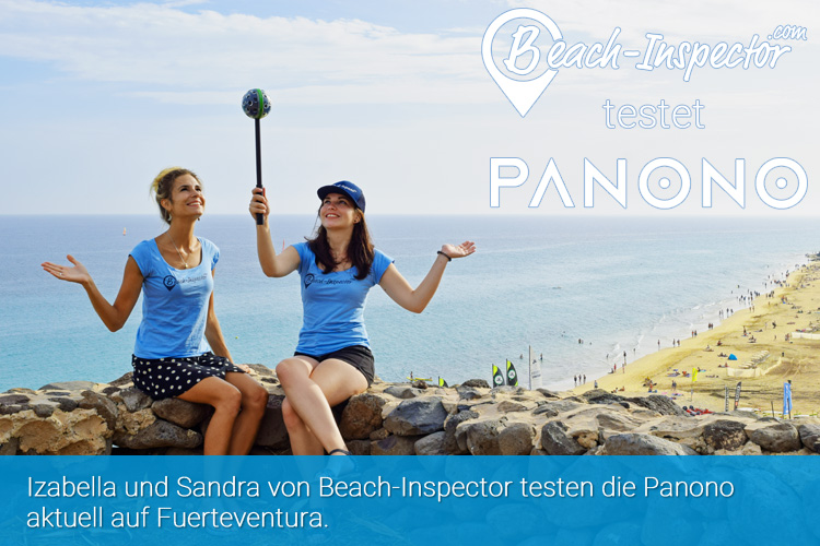 Beach-Inspector and Panono are cooperating