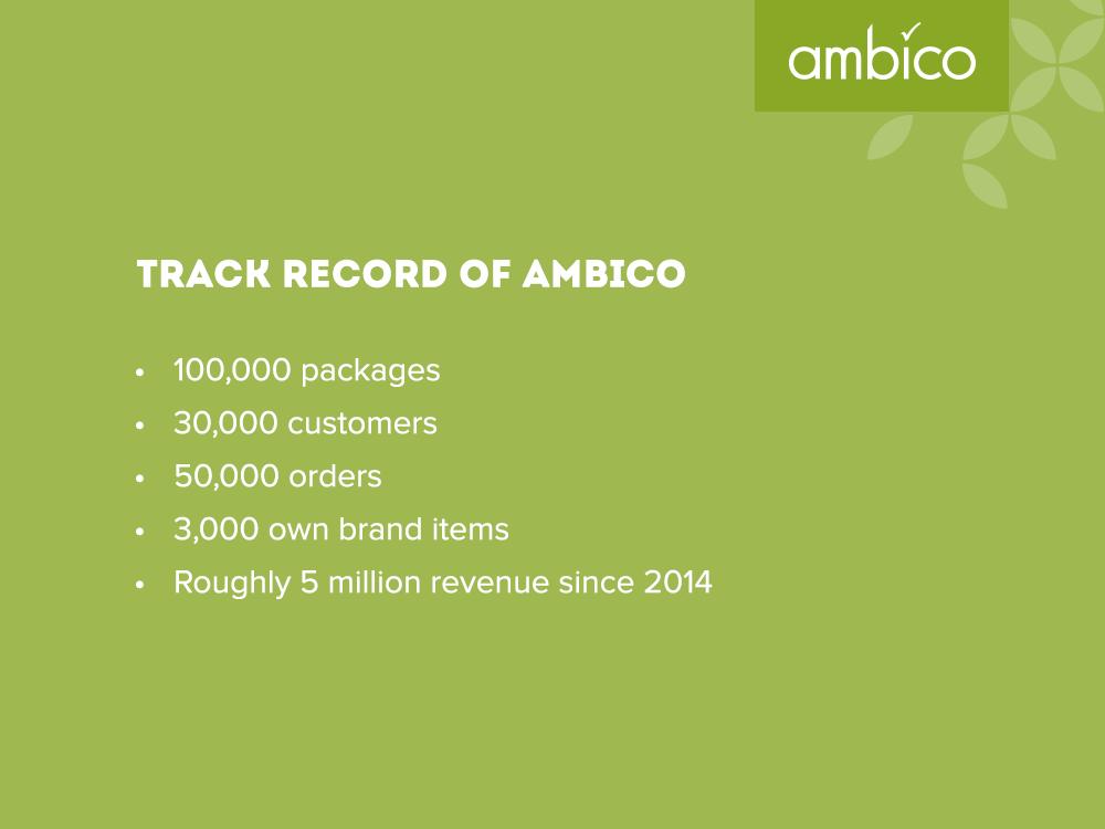 ambico - track record