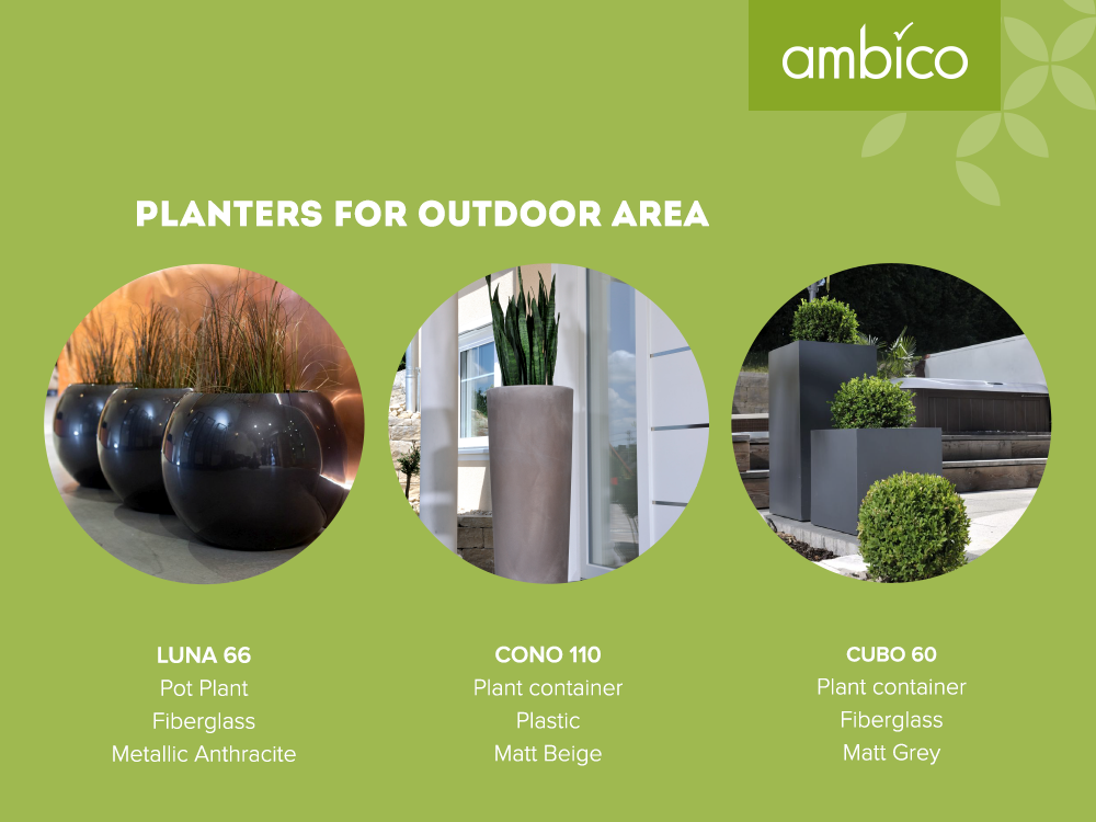 ambico planters for exterior