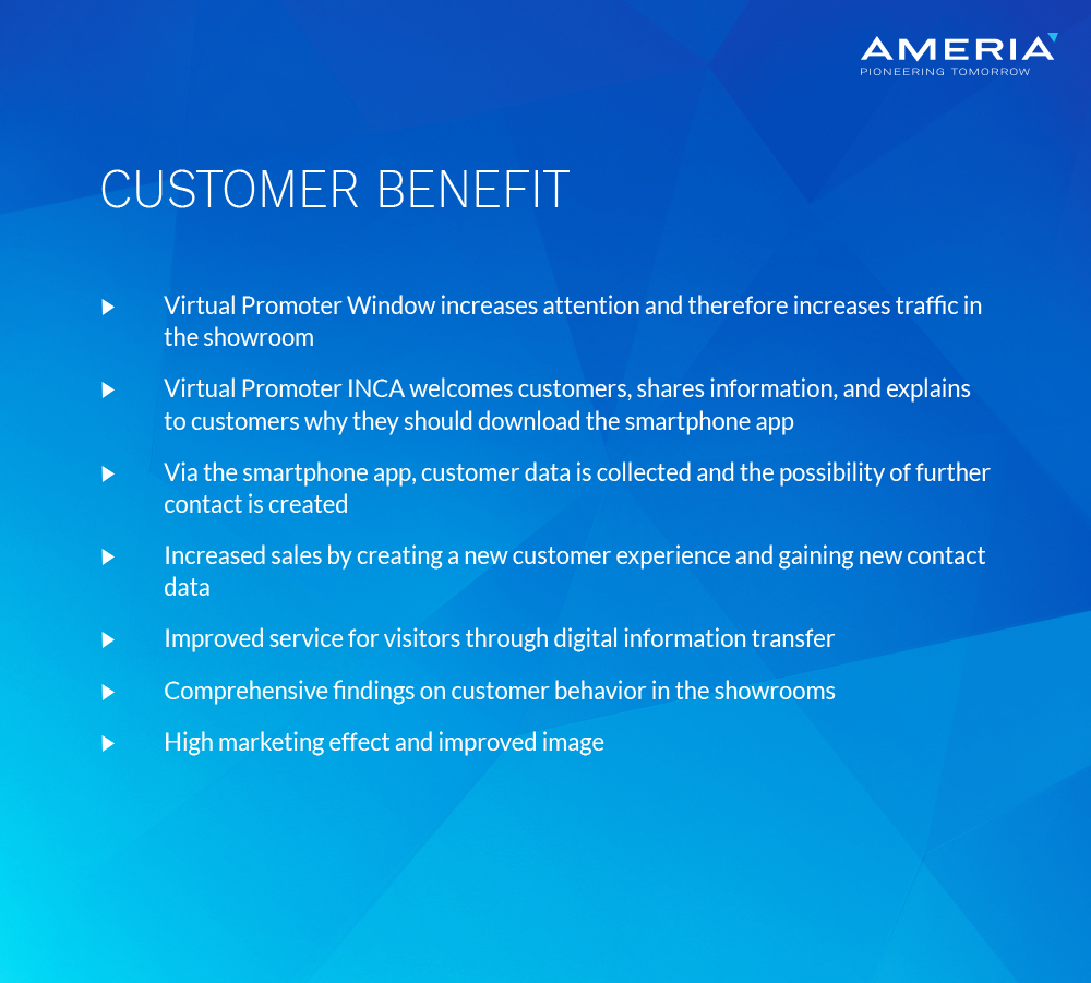 AMERIA - customer benefit - Car