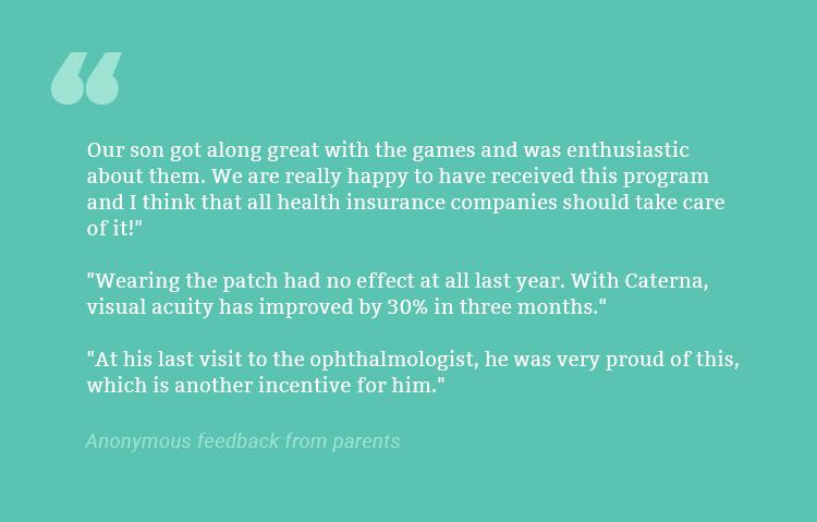 Caterna - parent feedback