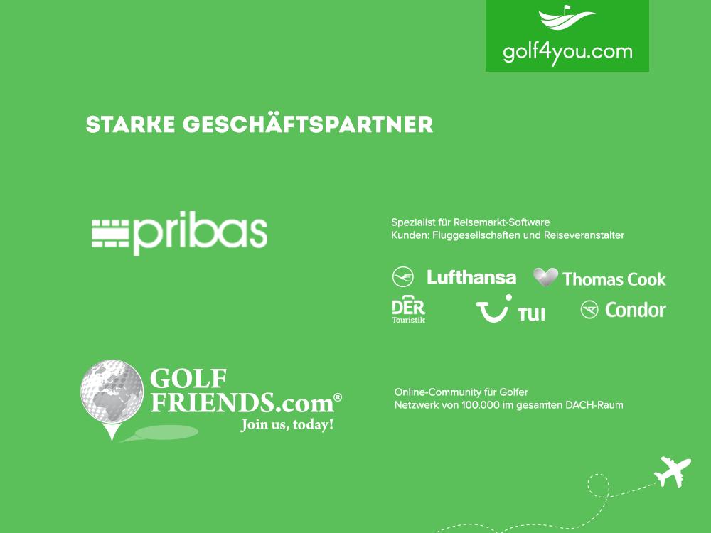 golf4you - Starke Geschäftspartner