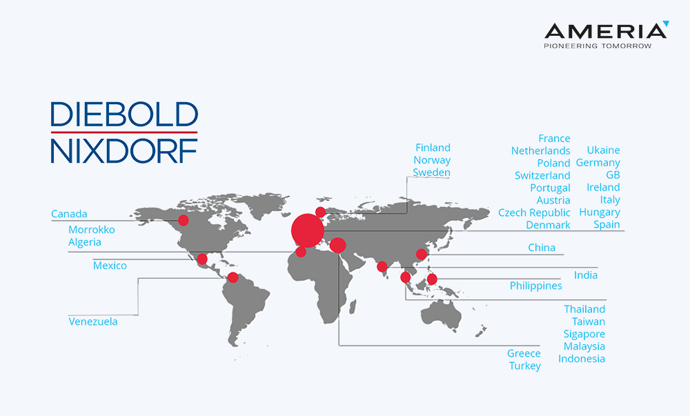 Diebold Weltkarte