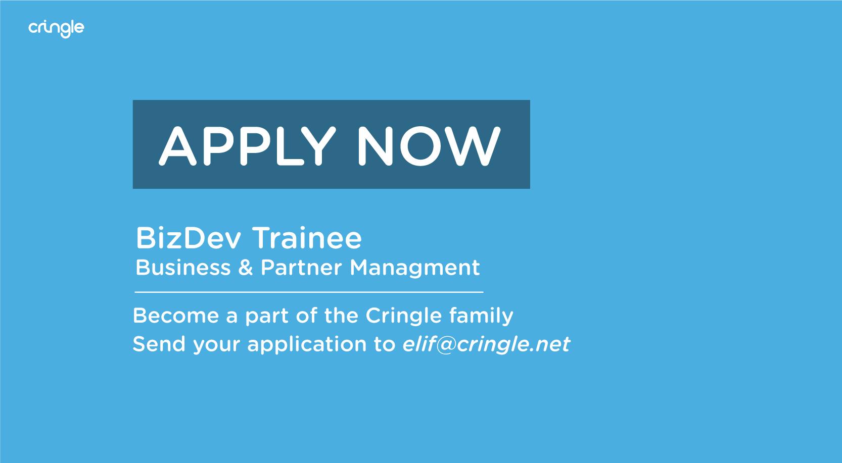 Cringle - Apply now