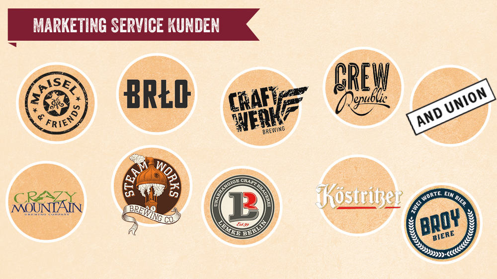 Bier-Deluxe - Marketing Service