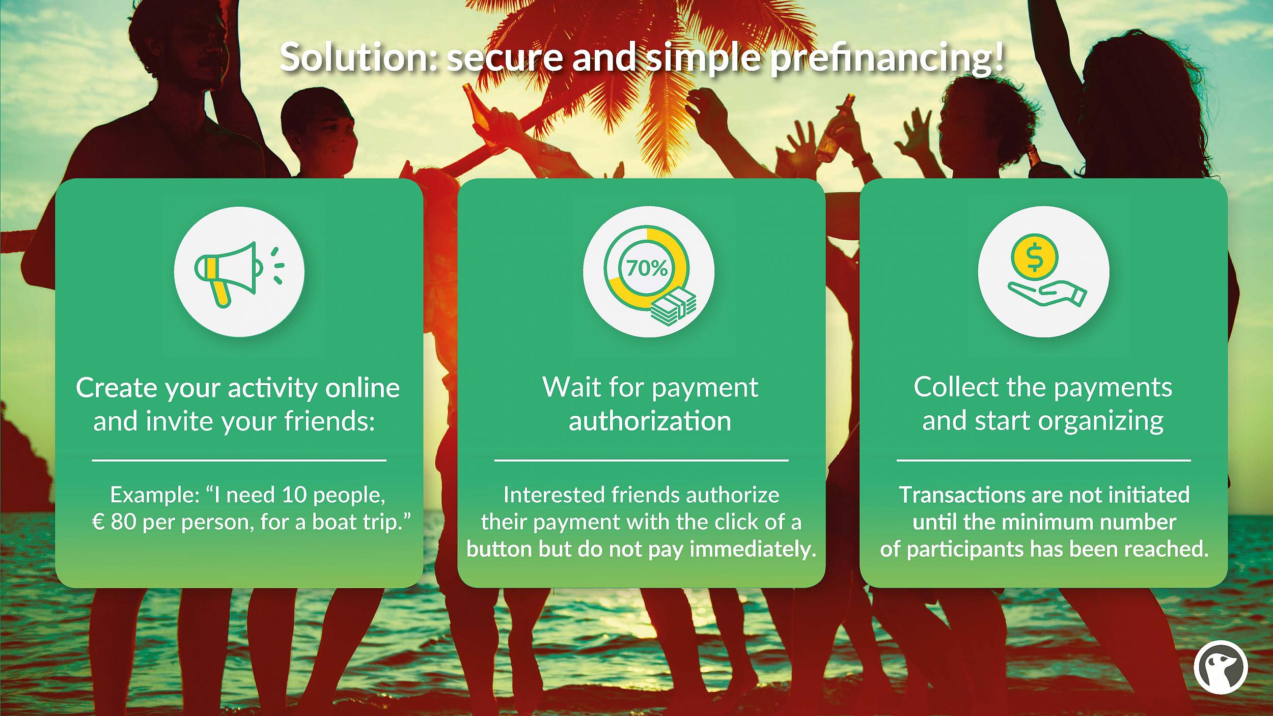 GroopDoo - secure and simple prefinancing