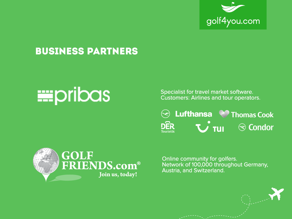 golf4you - Strong business partners