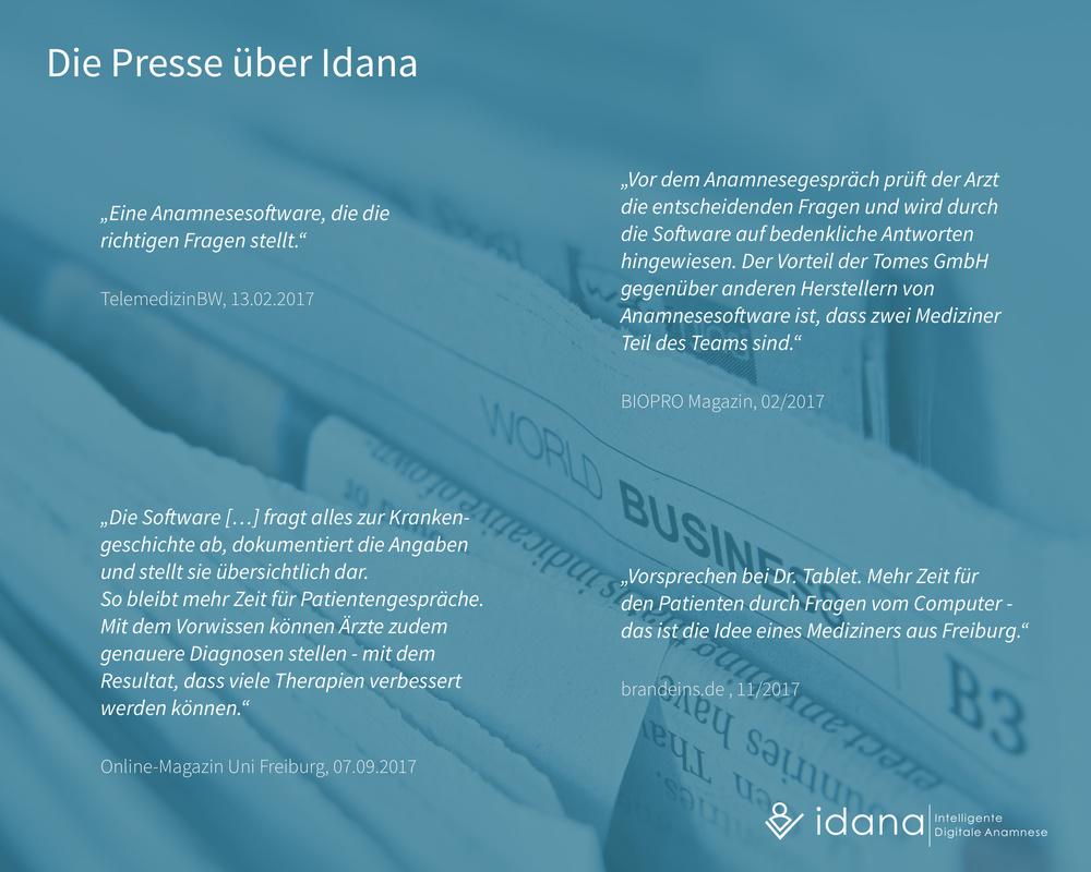 Idana - Presse