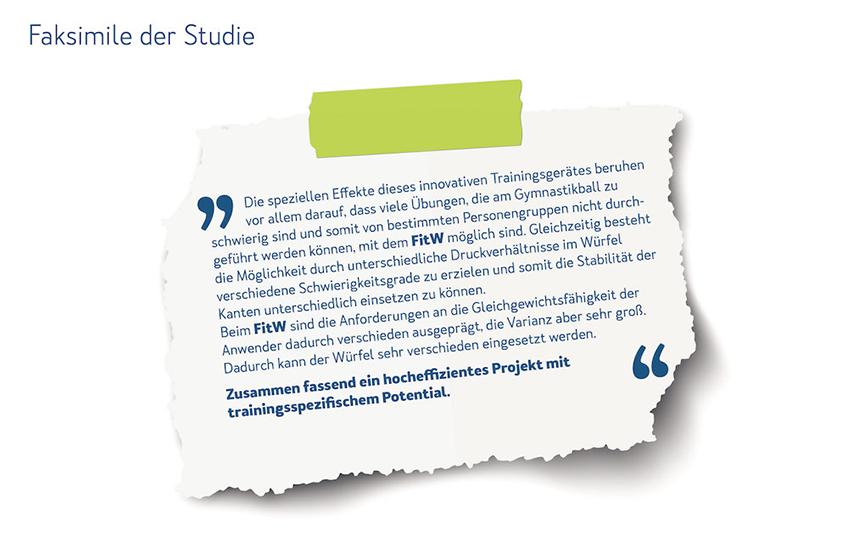 FitW - Faksimile der Studie