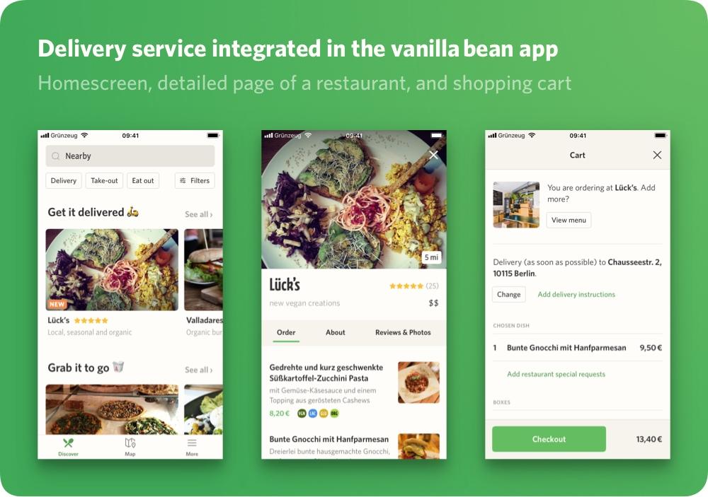 Vanilla Bean - App