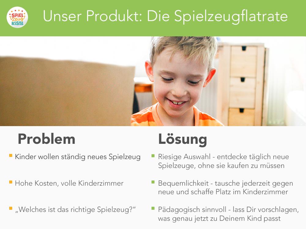 Unser Produkt: Die Spielzeugflatrate