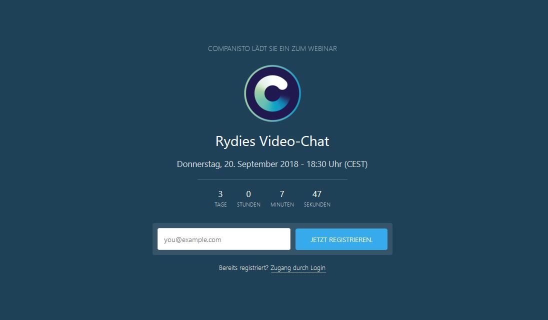 Rydies - Video Chat