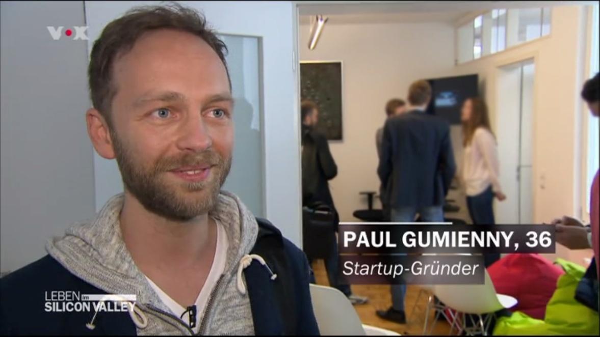 GroopDoo Gründer Paul Gumienny bei VOX