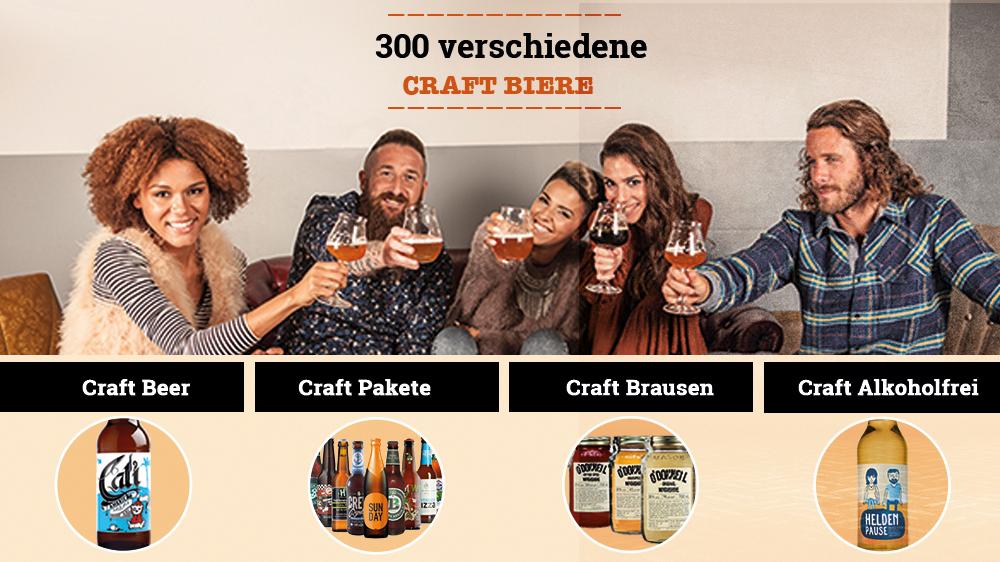 Bier-Deluxe Produktauswahl