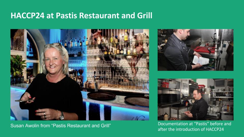 HACCP24 im Pastis Restaurant und Grill