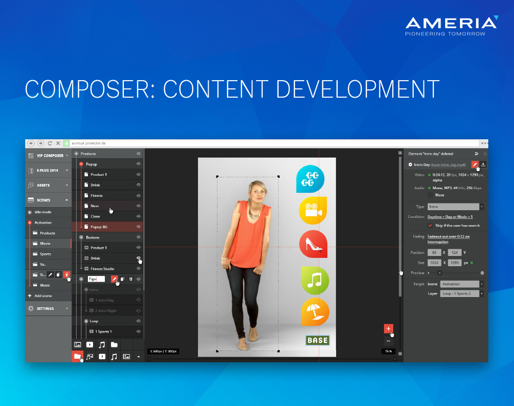 AMERIA Composer Content Development