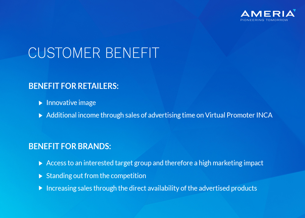 AMERIA - customer benefit