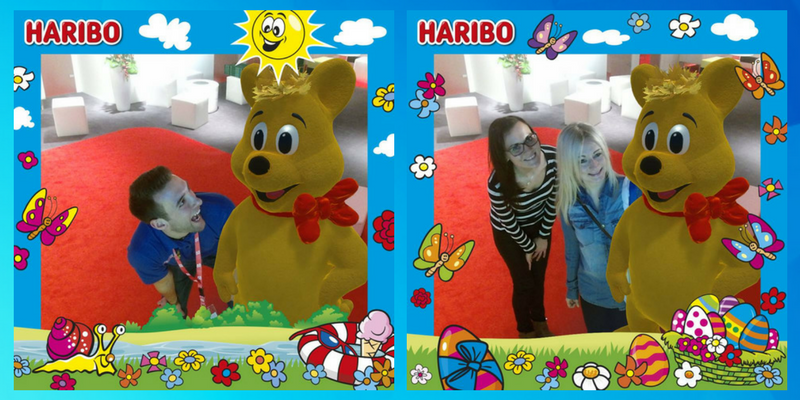 Take your Selfie with HARIBO and Virtual Promoter