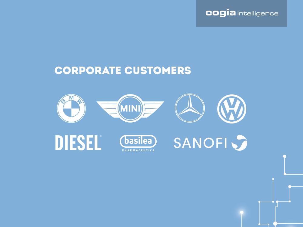 Cogia Customers