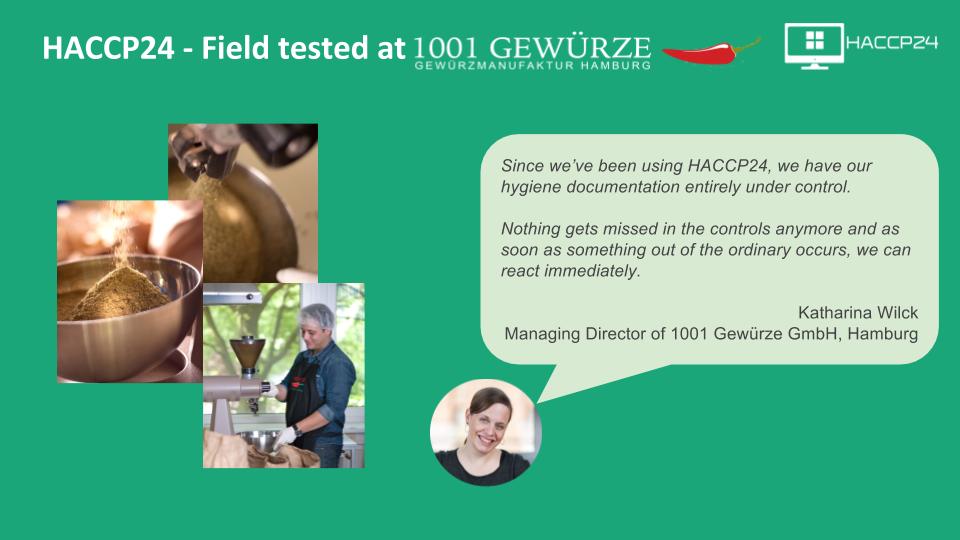 Field test - 1001 Gewürze