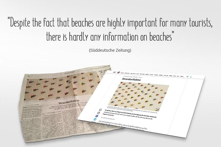 Beach-Inspector in the Süddeutsche Zeitung