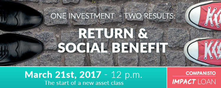 New asset class - Impact loan