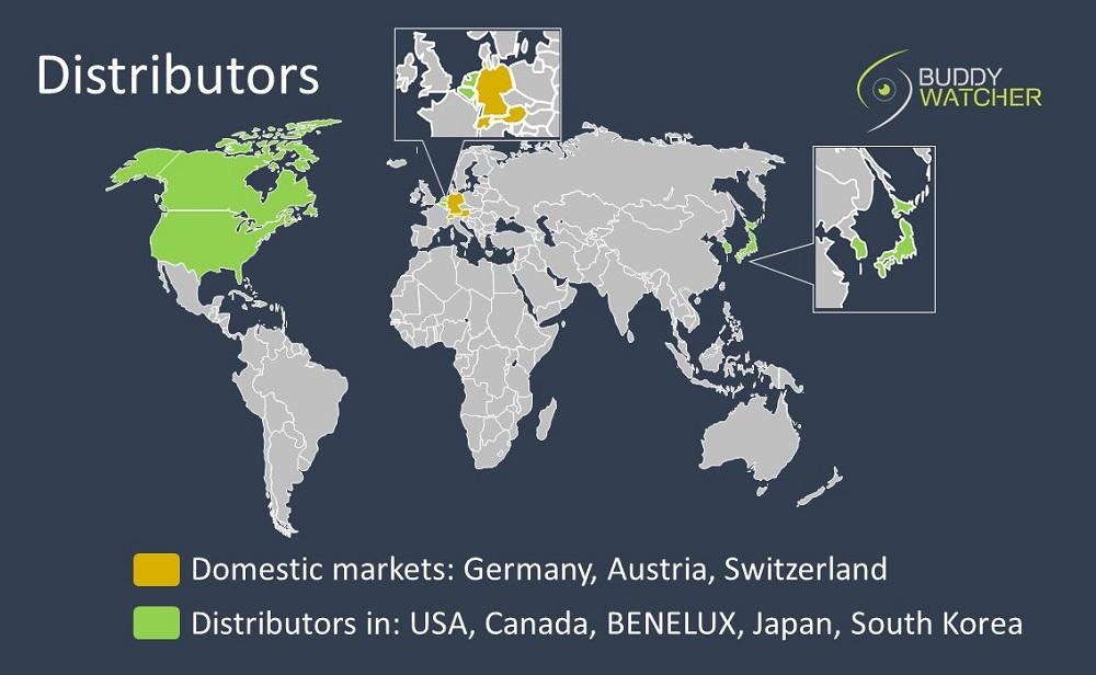 Buddy-Watcher Distributors worldwide