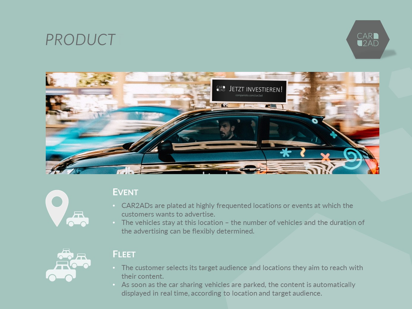 CAR2AD - Products