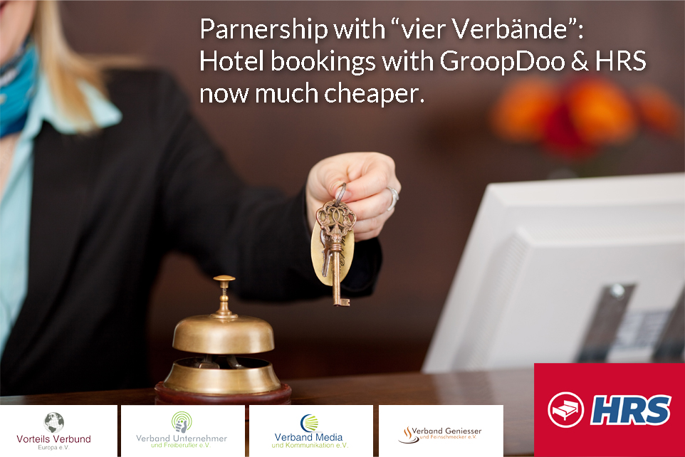 "GroopDoo - Partnership with ""vier Verbände"""