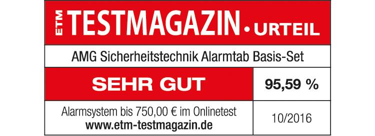 AMG Sicherheitstechnik Alarmtab Basis-Set ist ausgezeichnet