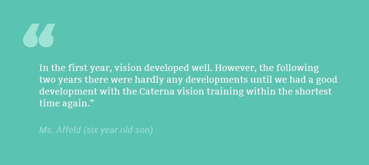 Caterna - parent feedback 1