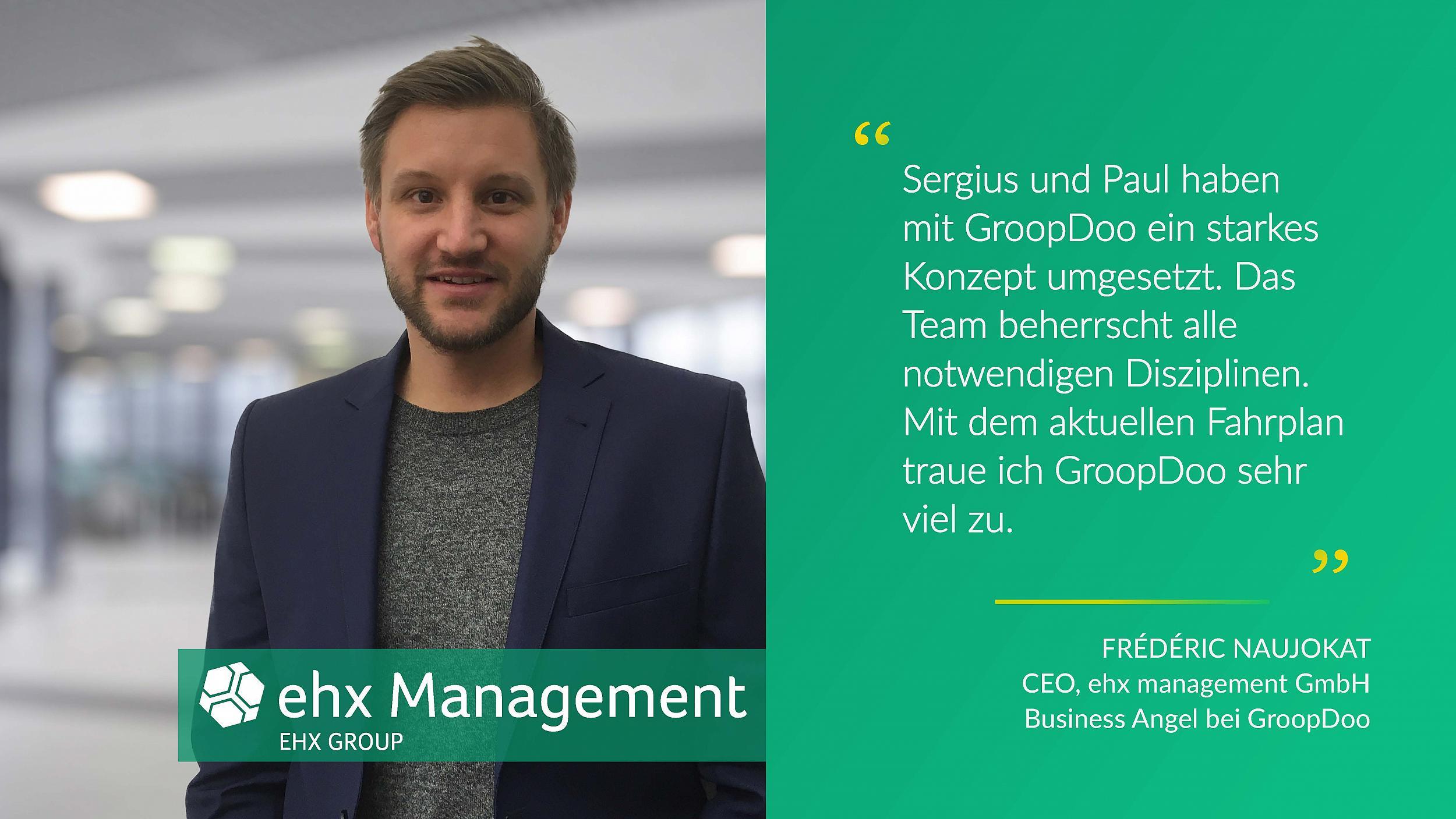 Frédéric Naujokat von ehx management GmbH